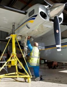NZAM's aircraft engineers keep the fleet maintained