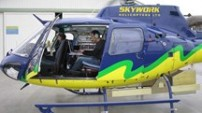 Helicopter acquisition with LiDAR Pod