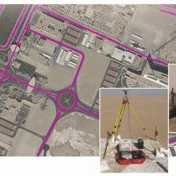 Saudi   Kuwait Border Mapping